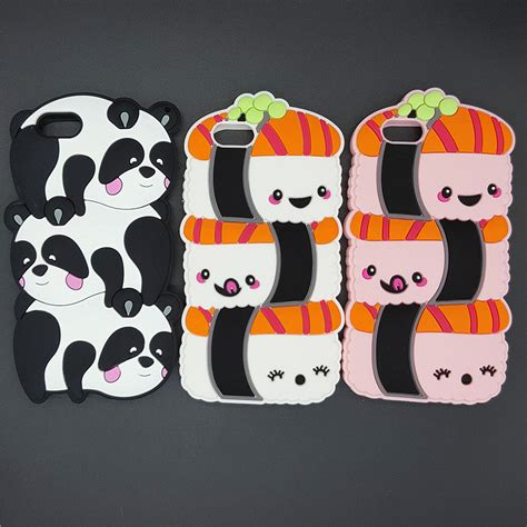 Silicone Rubber 3d Iphone 7 7s Doraemon Edition buy wholesale panda cover from china panda cover wholesalers aliexpress