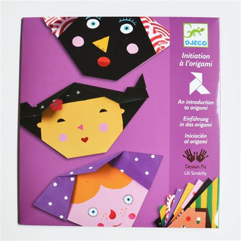Origami For 6 Year Olds - djeco origami faces