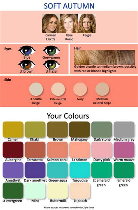 soft autumn color palette 12 seasonal palettes 3 autumns expressing your