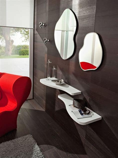 mensole per ingresso pa305 ingresso moderno completo di mensole specchi e