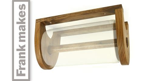 How To Make A Paper Towel Holder Out Of Wood - paper towel holder