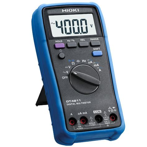 Multimeter Digital Hioki hioki dt4211 digital multimeter meter digital