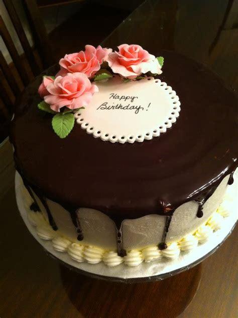 Decorating With Ganache by Chocolate Ganache Birthday Cake Cake By Jiffy0127