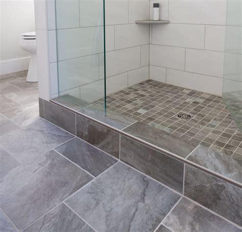 shower curb residential portfolio capozza tile flooring center