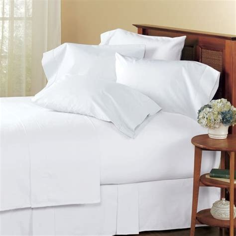 amazon bed sheets queen amazon com solid white 300 thread count queen size sheet