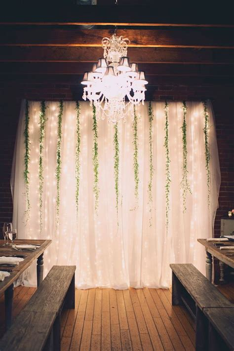 wedding backdrop ideas  greenery diy wedding