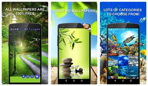 cool android apps top 11 wallpaper and background apps for your android device the android soul