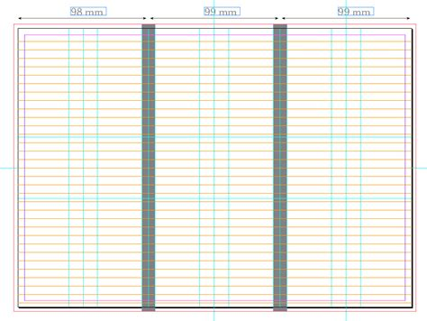 in design layout grid print design how to create a grid system on a tri fold