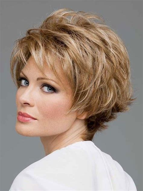 fat face hairstses for women over 45 short layered hairstyles fat face short hairstyles for