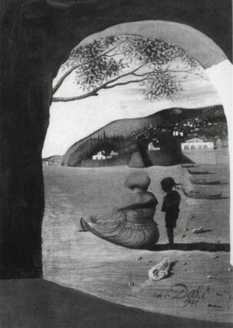 Ilusiones Opticas Salvador Dali | optical illusions in the paintings of salvador dali 18 pics