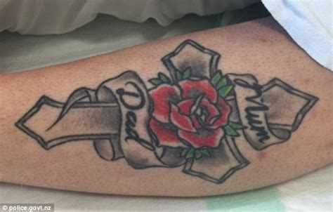 rose tattoo may help identify woman left roadside in dome
