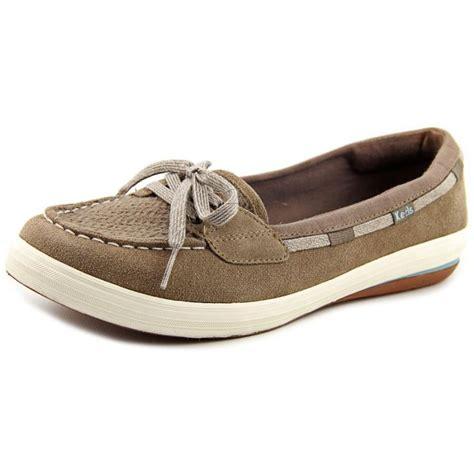 boat shoes keds keds glimmer boat women suede brown boat shoe comfort
