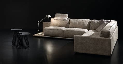 gamma italian leather il decor boston border sofa gamma international italy