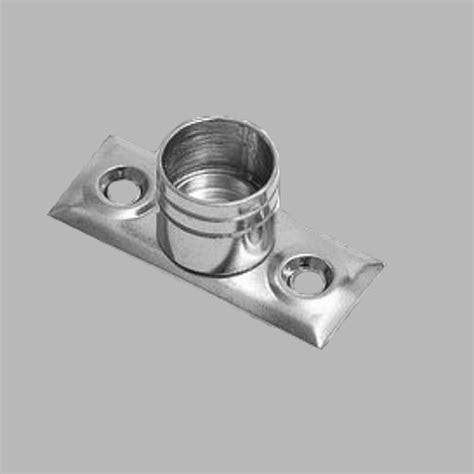 gordijnroede in de dag steun in de dag gordijnroede 13 mm kleur zilver 2 st