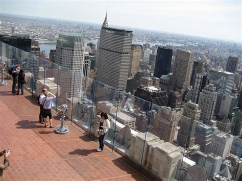 observation deck top of the rock top of the rock observation deck new york city tourist