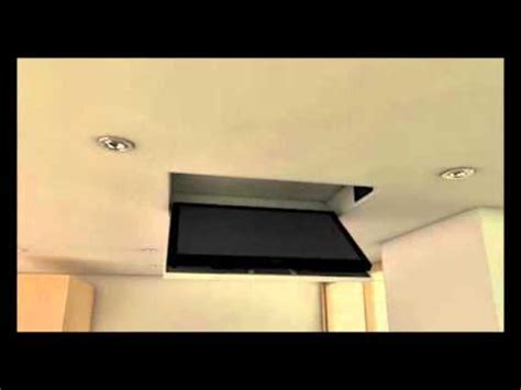 staffe tv da soffitto tv moving mfc staffa tv motorizzata da soffitto