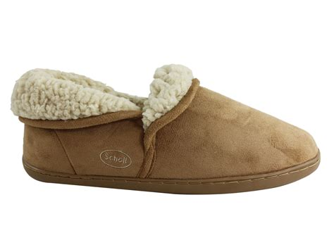 scholl orthaheel slippers new scholl orthaheel snug womens warm comfortable indoor