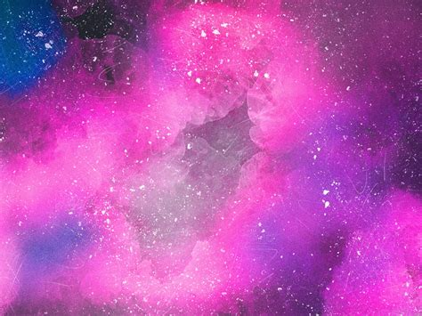 wallpaper pink space clouds abstract  hd