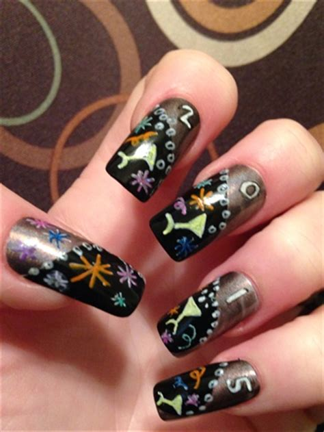 toe nail for new year new year s nails nail gallery