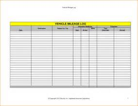 vehicle expense log template 5 vehicle mileage log printable receipt