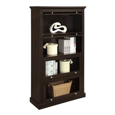 Altra Barrister Bookcase altra furniture barrister bookcase in espresso finish 9607096