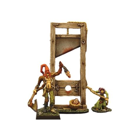 lydyly miniset 108 set executioner and guillotine from fenryll fen fm108