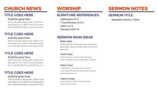 church bulletin templates church bulletin templates microsoft publisher template