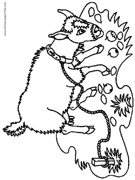 goat face coloring page free goats masks coloring pages