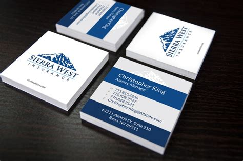 designs for insurance adjuster business card template west insurance business cards d4 advanced media