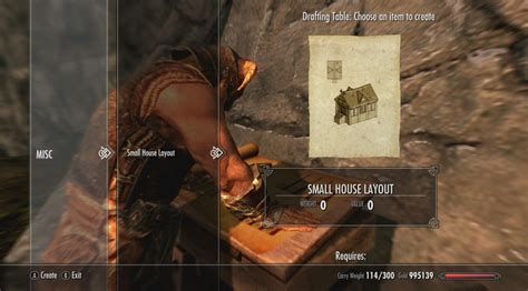 Drafting Table Skyrim Skyrim Hearthfire Dlc Announced As Another Timed Exclusive Lets You Build Homes And Adopt