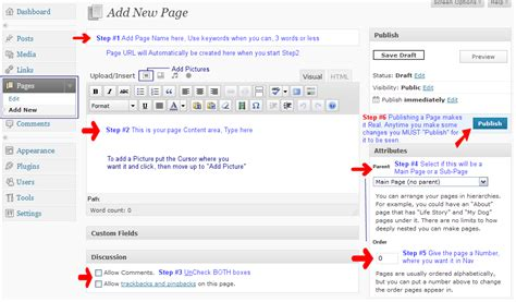 wordpress edit layout page wordpress cms editing tutorials html in wordpress