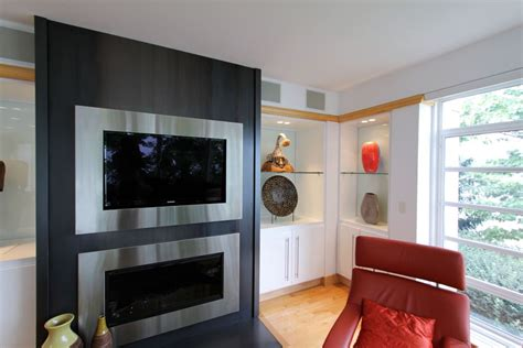 Fireplaces Designs With Tv Above by 20 Amazing Tv Above Fireplace Design Ideas Decoholic