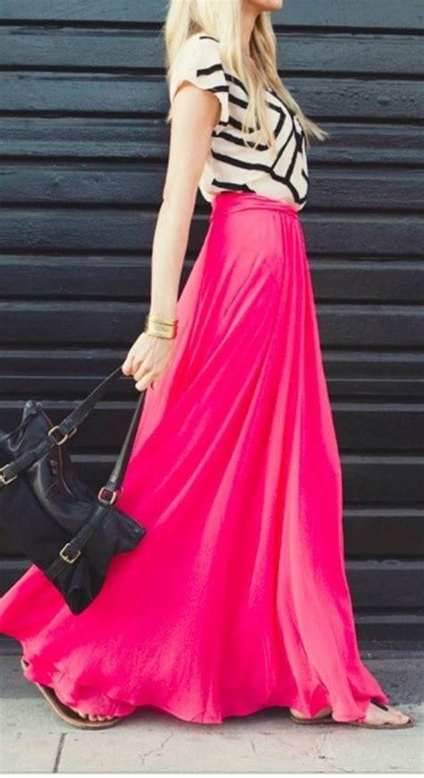 Maxy Pink pink maxi skirt maxi