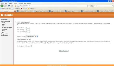 Modem Adsl D Link 526b njiplax setting ppoe speedy pada modem adsl