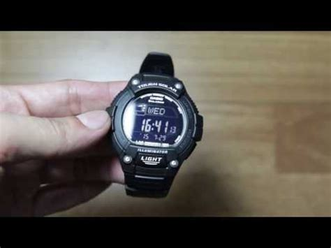 Tali Casio Aq S810w W 735h Black casio w s220 unboxing and opinion tough solar runners doovi