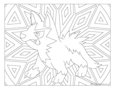 pokemon coloring pages poochyena 261 poochyena pokemon coloring page 183 windingpathsart com