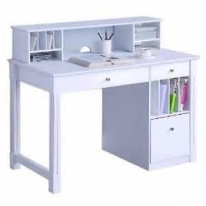 walker edison dw48d30 dhwh deluxe solid wood desk w hutch