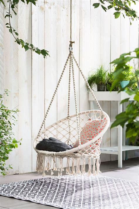 hangstoel tuin hangstoel tuin terras inspiratie pinterest