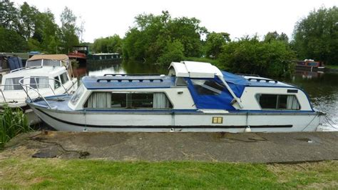 ebay river boats dawncraft 25 centre cockpit cruiser river canal boat
