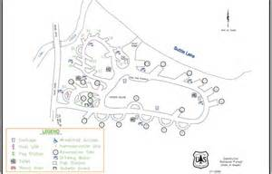 Oregon Campgrounds Map by Link Creek Campground Campgrounds Oregon
