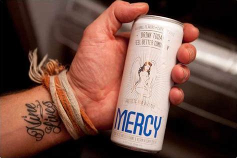 Mercy New Detox by Canned Hangover Remedies The Mercy Drink Combats