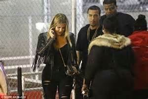 malika haqq and chinx khloe kardashian has french montana by her side as she