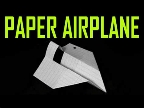 Make World Record Paper Airplane - how to make a world record paper airplane glider