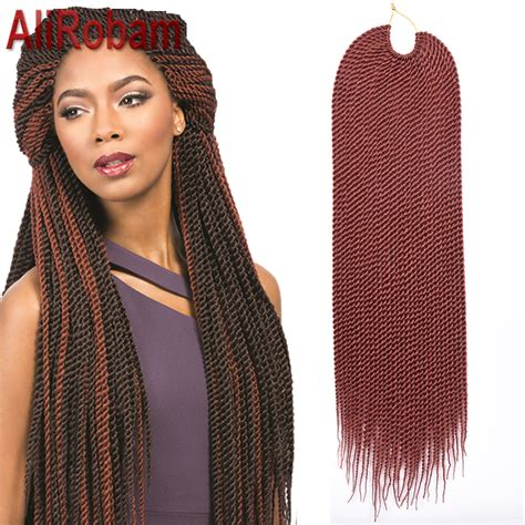 box braids with 2 packs of hair promotion crochet twist hair box braid extensions 22inch