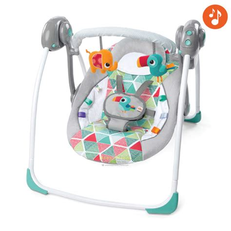 bright starts biscotti baby portable swing bright starts portable swing toucan tango baby needs
