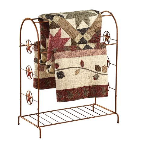 Wrought Iron Quilt Rack by Collections Etc Country Wrought Iron Quilt Blanket