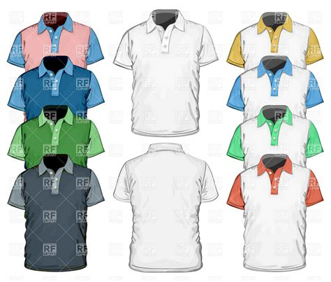 polo pattern ai men s polo shirt full color design template royalty free