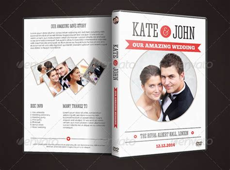 wedding dvd layout album cover template 51 free psd format download