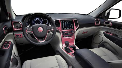 pink jeep interior jeep grand cherokee 2016 up with 8 4 inch touch screen