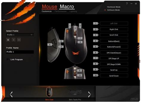 Mouse Macro Asus asus strix claw gaming mouse review play3r page 6